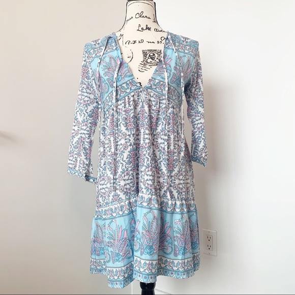 Dresses & Skirts - Long Sleeve Boho Dress/Tunic